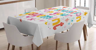 Hippie Party Tablecloth