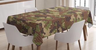Summer Mosaic Pattern Tablecloth
