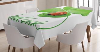 Clover Ladybug Tablecloth