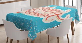 Happy Retirement Tablecloth