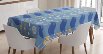 Abstract Sea Tablecloth