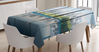 Central Park Forest Tablecloth