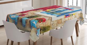 Mediterranean House Tablecloth