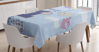 Elephant in the Sky Tablecloth