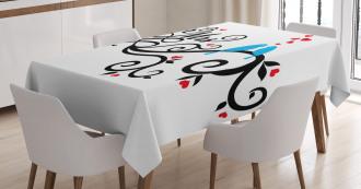 Mr. Mrs. Birds Branch Tablecloth