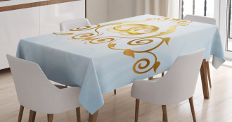 Vintage Classic Rings Tablecloth