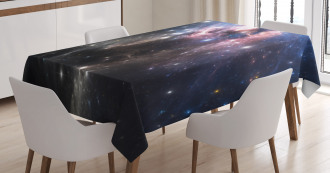 Vivid Supernova Tablecloth