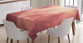 Majestic Evening Sky Soft Tablecloth