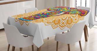 Ethnic Animal Tablecloth