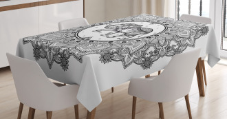 Power Symbol Tablecloth