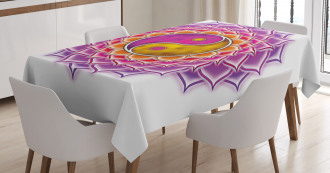Blossom Ying and Yang Tablecloth
