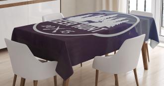 Emblem Antler Tablecloth
