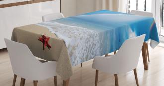 Rainbow Ocean Tablecloth