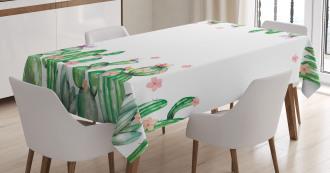 Tender Romantic Blossoms Tablecloth