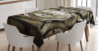 Aged Gears Tablecloth