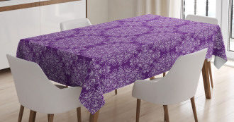 Swirl Floral Branch Tablecloth