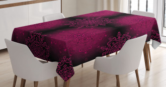 Psychedelic Boho Tablecloth