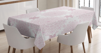 Victorian Damask Tablecloth