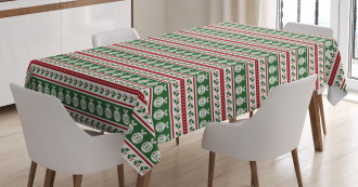 Baubles Holly Tablecloth