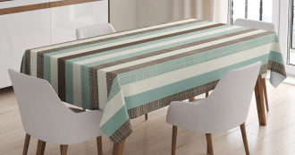 Striped Classical Old Tablecloth