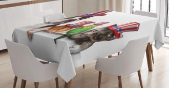 American Pets Tablecloth