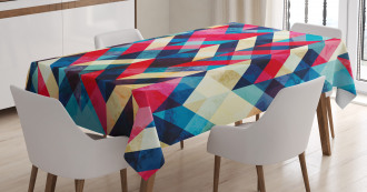 Downward Parallel Lines Tablecloth