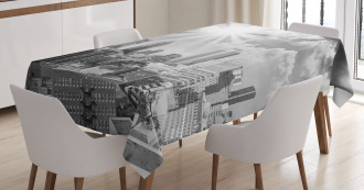 Aerial Montreal Tablecloth