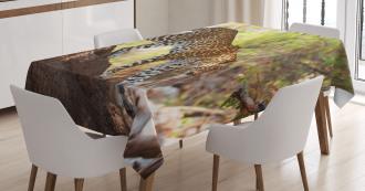 Leopard Tree Nature Reserve Tablecloth