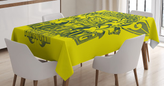 Surf Team Party Tablecloth