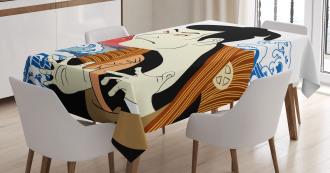 Performer Portrait Tablecloth