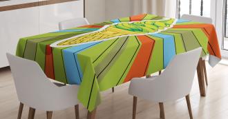 Ice Cream on a Cone Tablecloth
