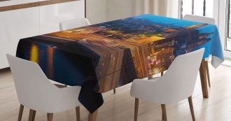 Amsterdam Famous Travel Tablecloth