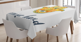 Abstract Religious Art Tablecloth