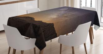 Desert of Bardenas Stars Tablecloth