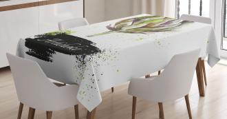 Fresh Menu Healthy Tablecloth