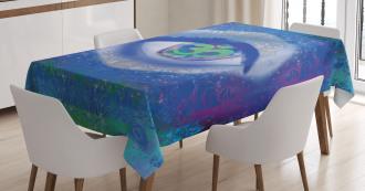 Mystical Sign Mandala Zen Tablecloth