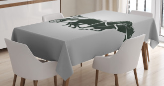 Chariot Gladiator Tablecloth