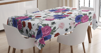 Colorful Corsage Tablecloth