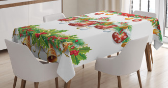 Flowers Socks and Bells Tablecloth