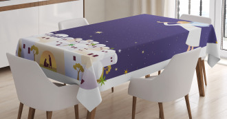 Miraculous Night Tablecloth