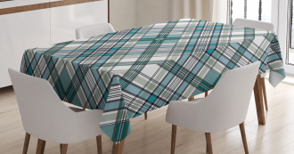 Modern Country Look Tablecloth