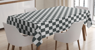 Classical Chessboard Tablecloth