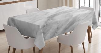 Hazy Cracks Shady Art Tablecloth