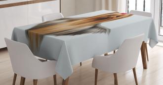 Groomed Hair Adorable Tablecloth
