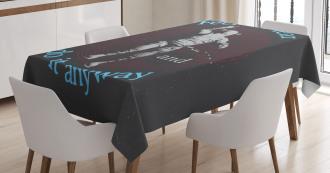 Dangerous Astronaut Tablecloth