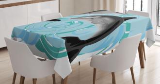 Nautical Life Theme Tablecloth