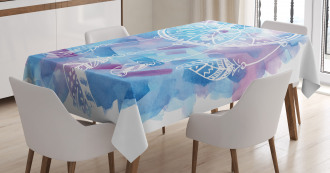 Dream Catcher Tribal Tablecloth