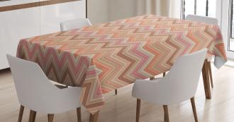 Zigzag Vintage Design Tablecloth