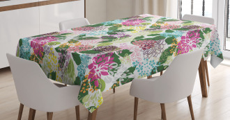Artistic Blooms Beauty Tablecloth