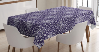 Middle Eastern Leaves Tablecloth